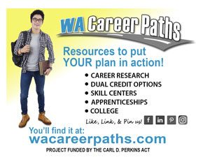 wa career paths high school promo card back