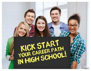 wa career paths high school card front