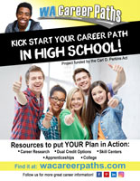 wa career paths high school flyer