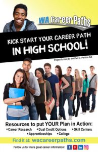 "WA Career Paths HS Poster Alt. 11"" x 17"""