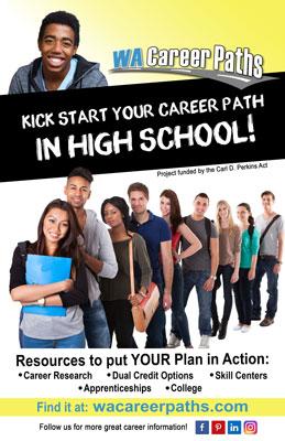 WA Career Paths HS Poster