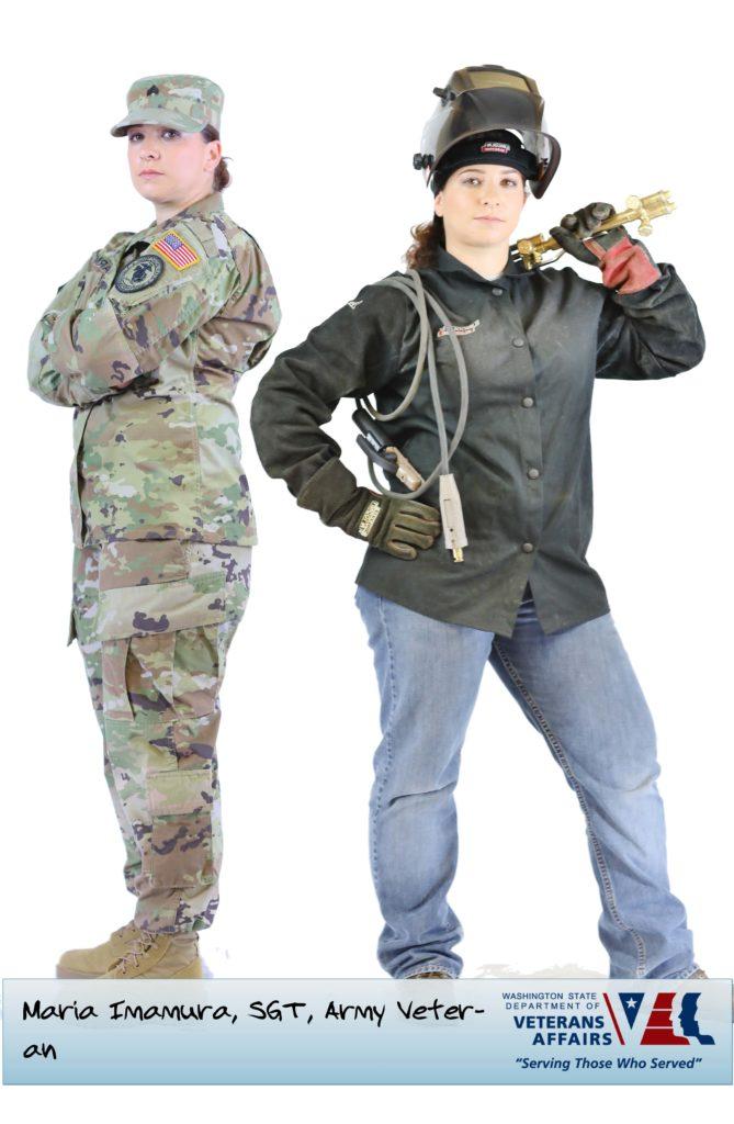Maria Imamura, SGT, Army Veteran