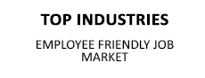 Top Industries - Employee Friendly Job Market