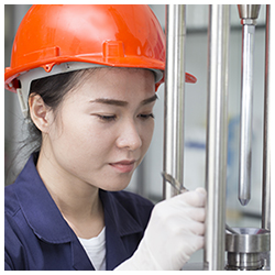 female industrial worker